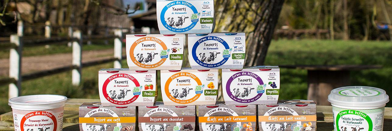 yaourts fermiers Ferme du Beffroi